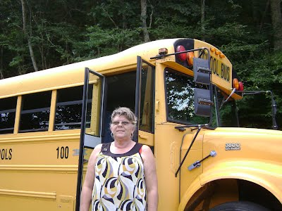 Bus 100 and Driver, Cathy Honeycutt