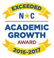 Exceeded NC Academic Growth Award 2016-2017